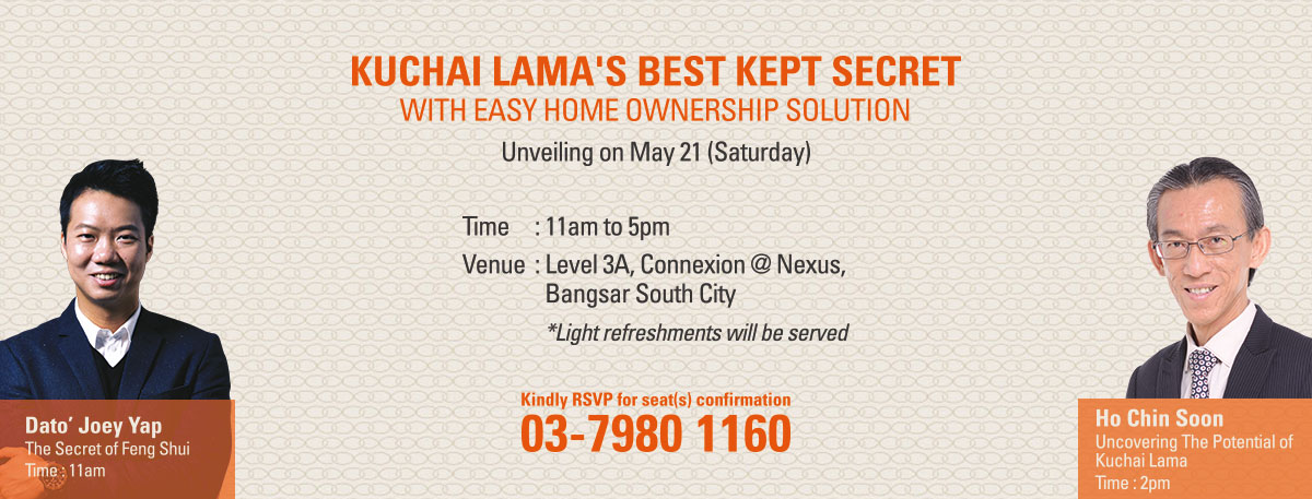 Kuchai Lama's Best Kept Secret to be Unveiled on May 21