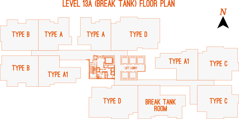 Level 13A Floor Plan