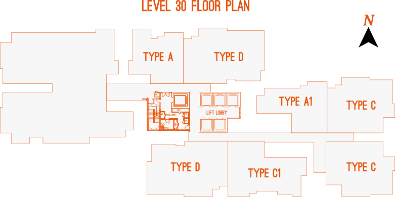 Level 30 Floor Plan