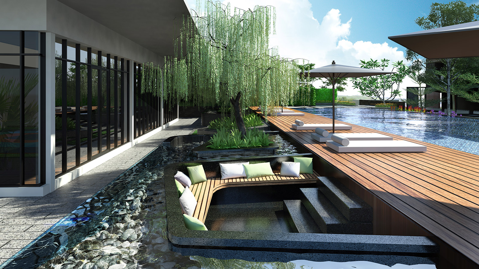 Chilled Out Sunken Seating
